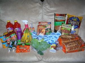 Heather's shopping trip